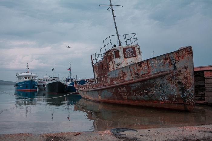 Хужирский порт