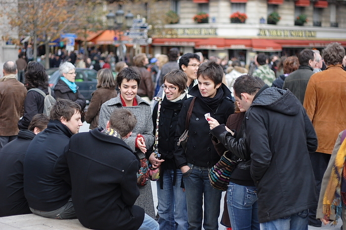 Парижcкая молодежь. Пользователя lucky из фотоальбомов Uralweb