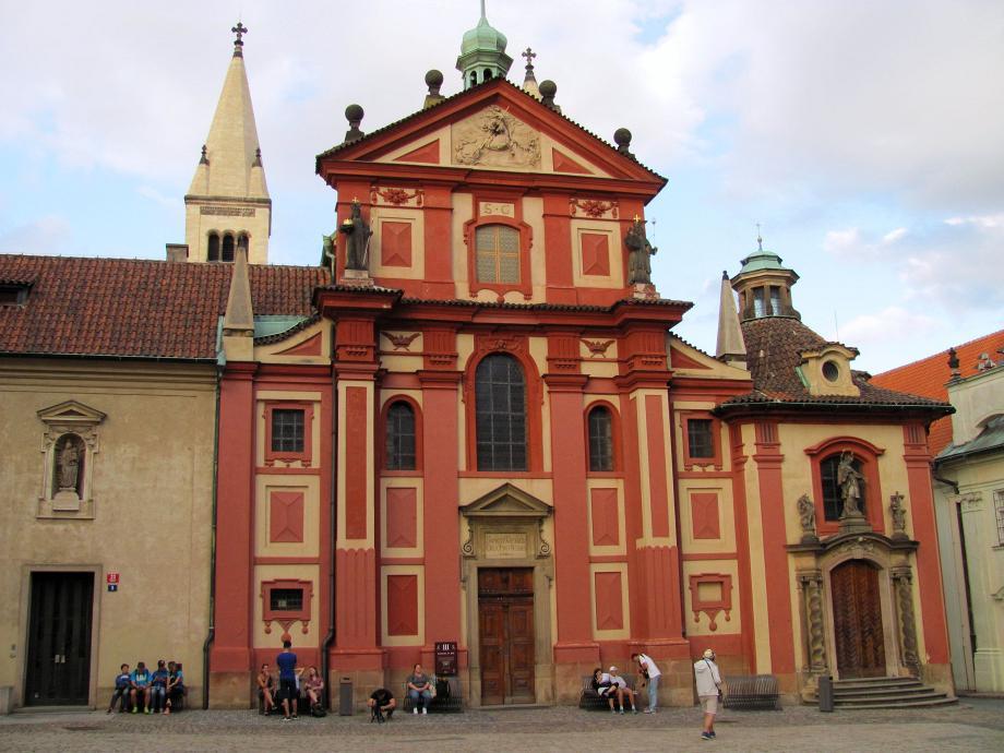 прага фасад базилики фото где находится приходили настеньке советами