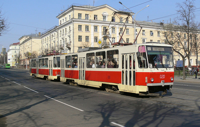 Движение трамваев №№ 3, 6, 7 в Минске изменяется с 1 сентября В Минске в связи с окончанием очередного этапа работ по...