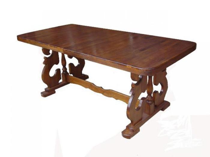 Большие обеденные столы своими руками