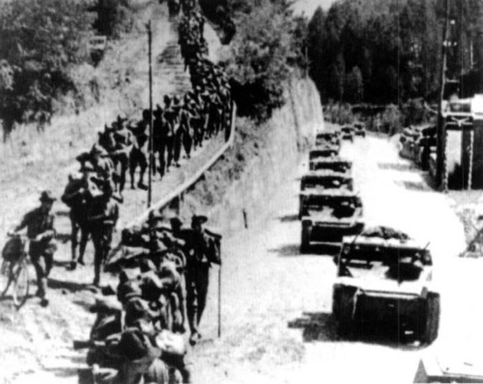 Фотографии времен Второй мировой войны.