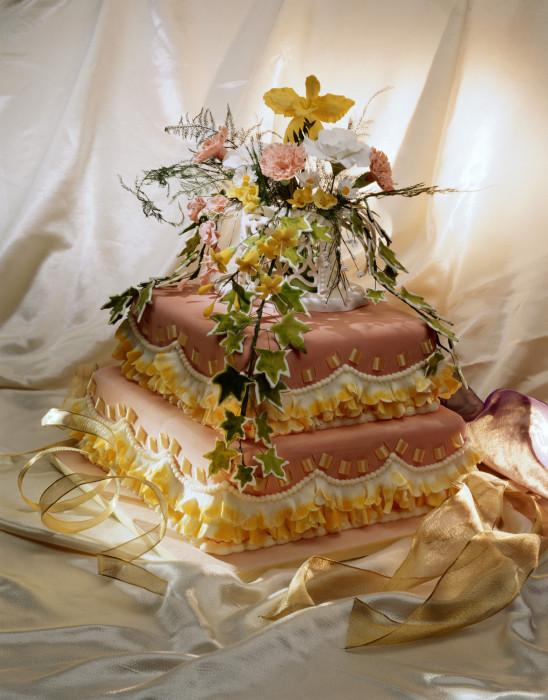Свадебный торт  № 1408234  скачать