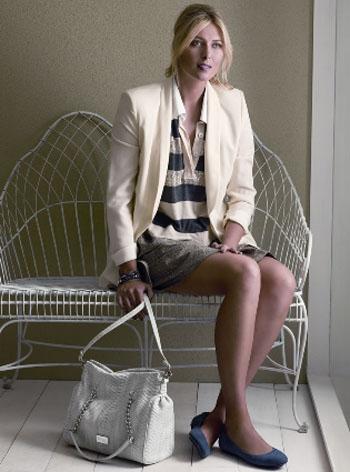 Мария Шарапова выпускает линию одежды под эгидой бренда Cole Haan.