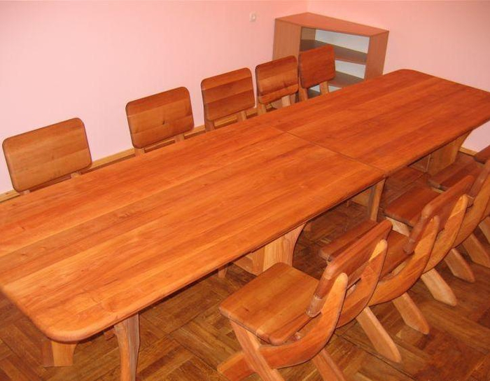 Столы и стулья из дерева фото своими руками
