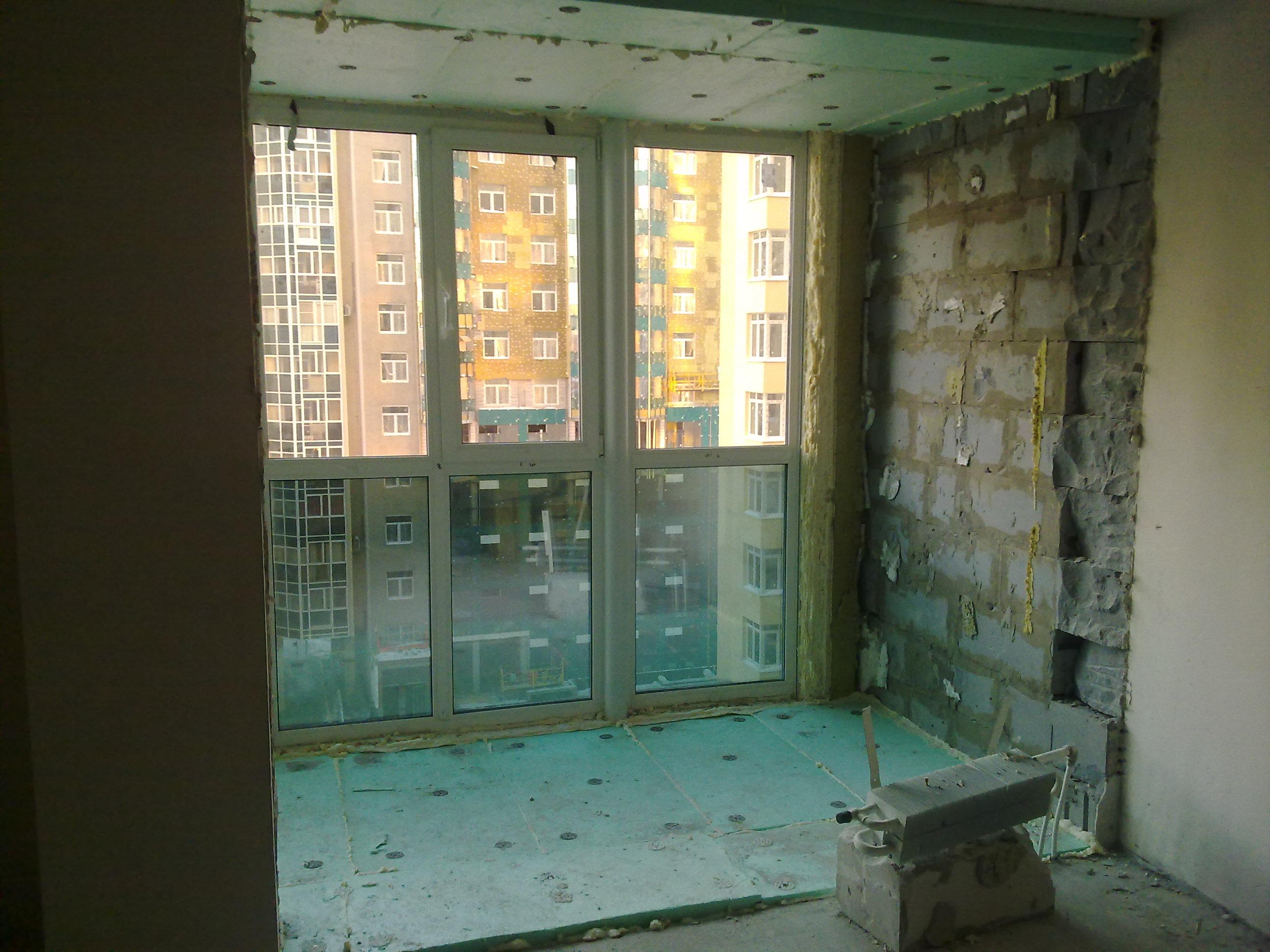 Утепление. остекление теплые лоджии, витражи. балконы , любо.