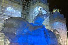Из-за пьяной молодежи в ледовом городке Екатеринбурга исчезнут большие горки