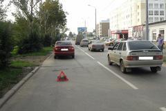Hyundai Accent сбил подростка на улице Волгоградская