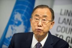 Пан Ги Мун поблагодарил Порошенко за стремление к миру