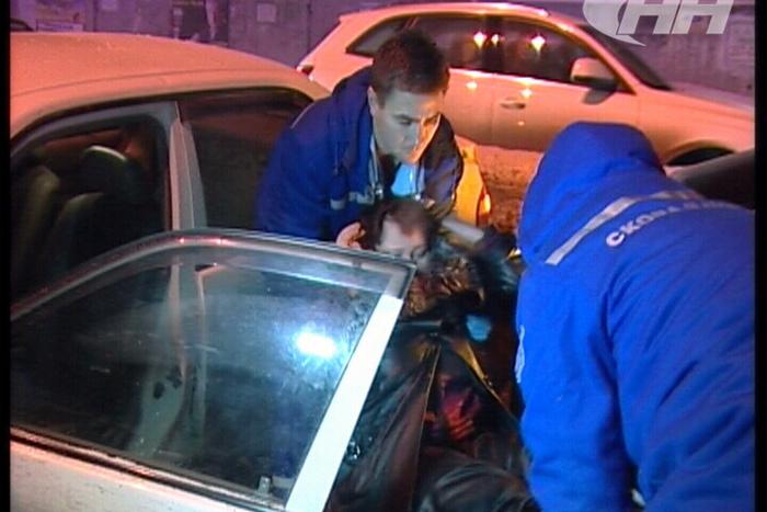 ВЕкатеринбурге столкнулись 6 авто