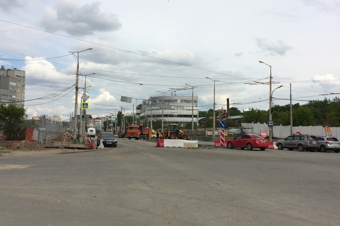 Вконце июня вЕкатеринбурге перекроют улицы Пирогова, Мельникова, Посадскую иРепина