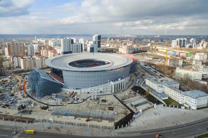 Окончено благоустройство территории Центрального стадиона