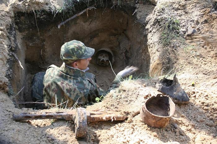 Человеческий скелет найден в Челябинской области при ремонте.