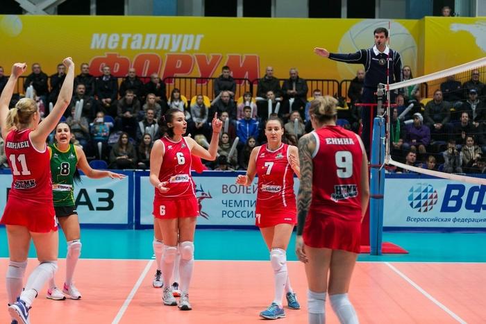 2-ая победа подряд: «Уралочка-НТМК» обыграла «Заречье-Одинцово»