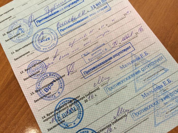 Медицинская справка для прав в екатеринбурге дешевый больничный лист санкт петербург