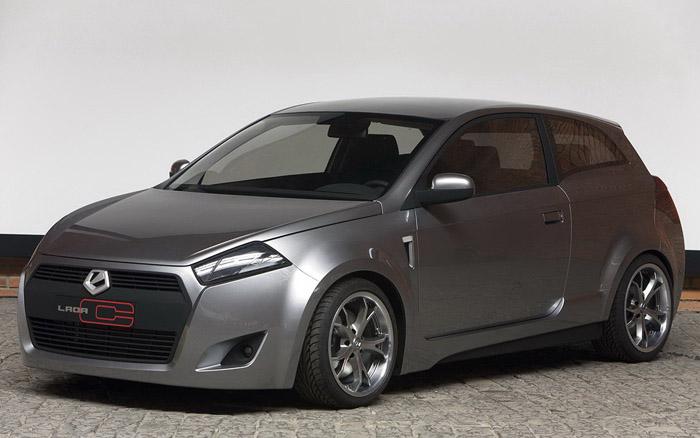 А вот такой могла бы быть Lada, если бы удалось реализовать так называемый проект С...
