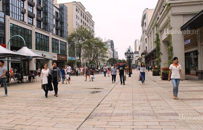 Пешая улица в Чандэ