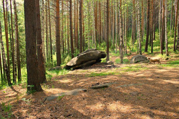 На подходе к Соколиному камню