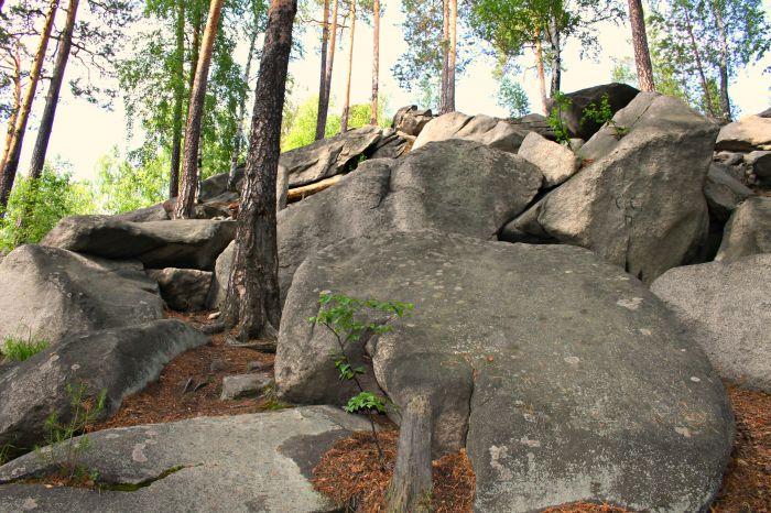 Скалы Соколиный камень