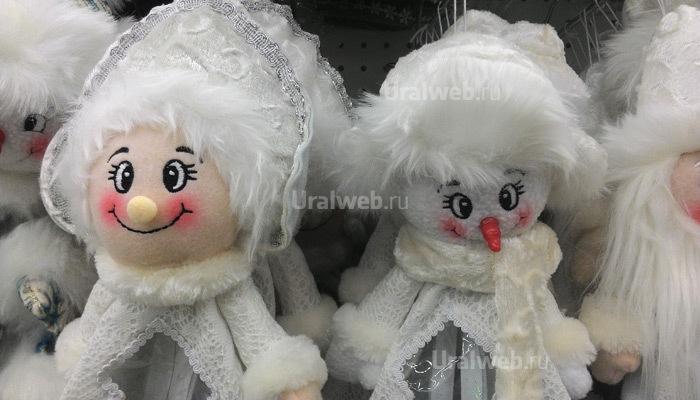 Снеговички - 396 рублей за штуку