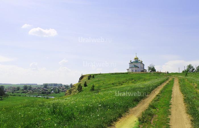 Церковь Казанской Иконы Божией Матери в селе Арамашево