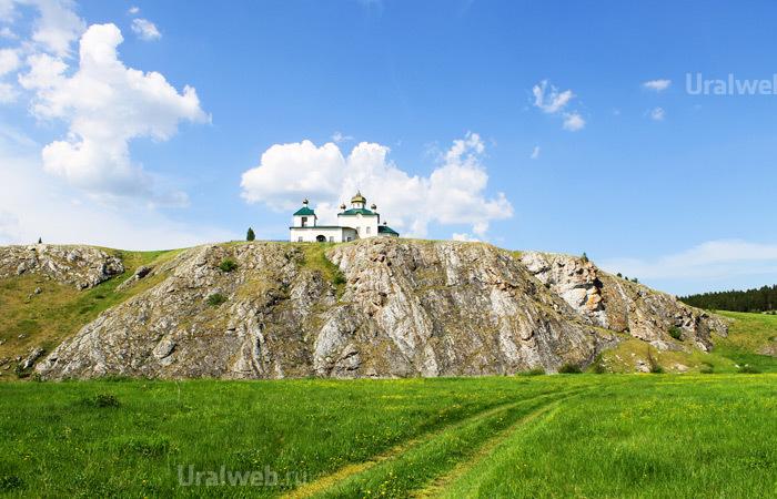 Церковь Казанской Иконы Божией Матери в селе Арамашево, Церковный камень