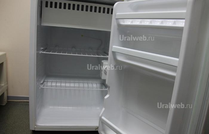 Марина, мы помыли холодильник!