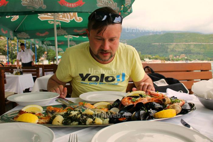 Рыбная тарелка - 45 евро