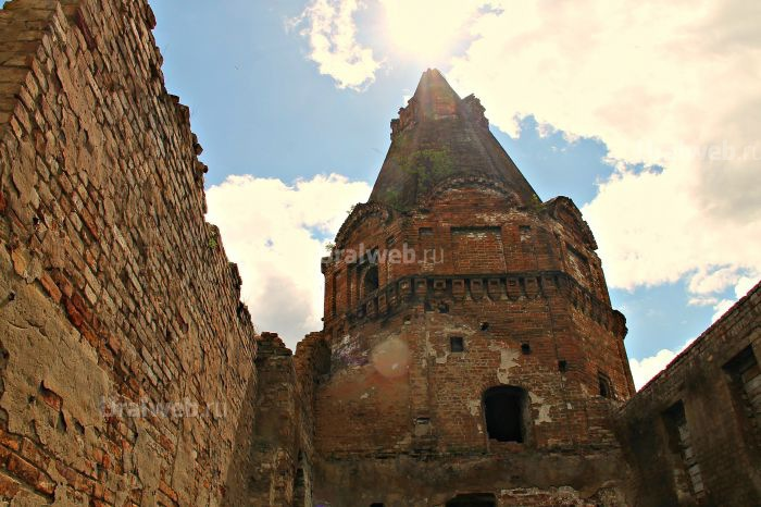 Юго-Западная башня, середина ХVIII века.