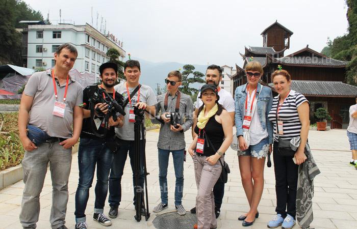 Медиагруппа из Екатеринбурга в Китае