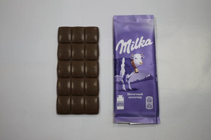 Шоколад Milka, Mondelez (Монделис Русь), 527 ккал/100 г
