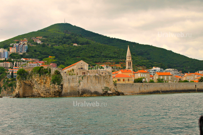 Старый город. Вид с моря