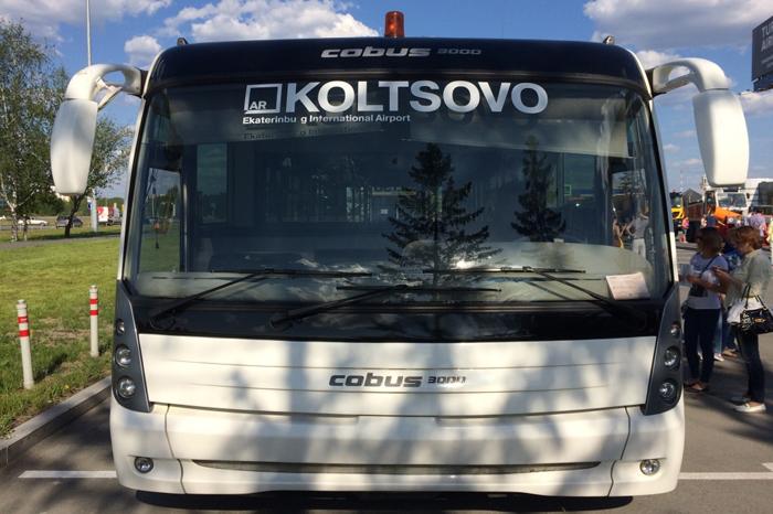 Перонный автобус Cobus