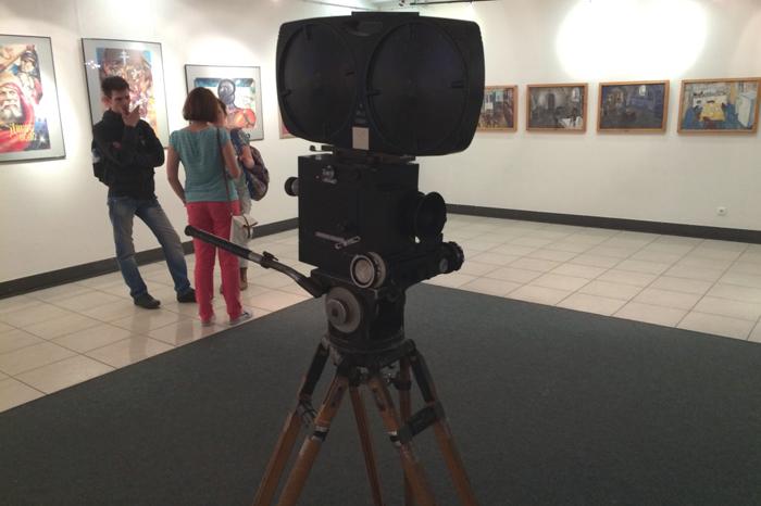 Фотозона музейного пространства Дома Кино