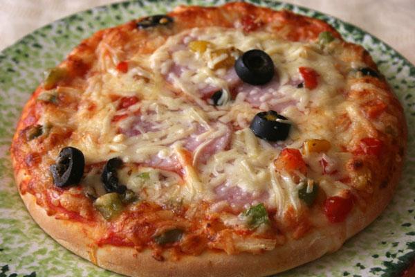Толстая пицца рецепт с фото пошагово