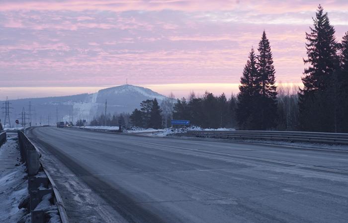 Трасса от Талицы до Кунгура - StranaGruzov ru
