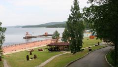 Пляжи озера Таватуй. Лето 2016