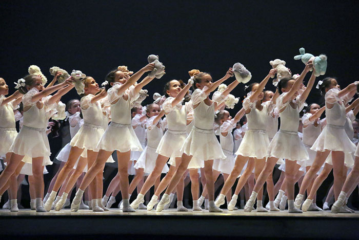 Заключительный концерт конкурс большой балет